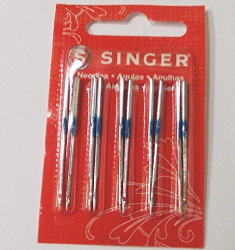 Sewvacusa 10 Singer Serger Needles 2054 Size 14 Fits Models In (Description Model)