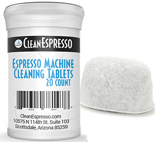 Breville Espresso Machine Cleaning Tablets + BONUS Filter - Model BRF-020 - Breville Espresso Machine Accessories. (1)