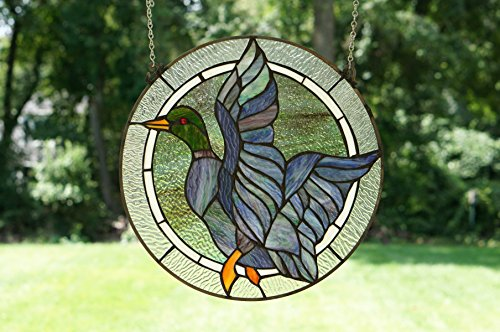 Handcrafted Stained Glass Suncatcher (16