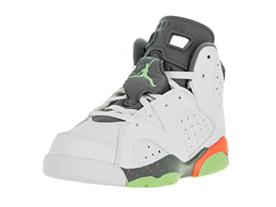 Nike Jordan Kids Jordan 6 Retro BP White Ghst Green Hst Brght Mng b28a5e6a6