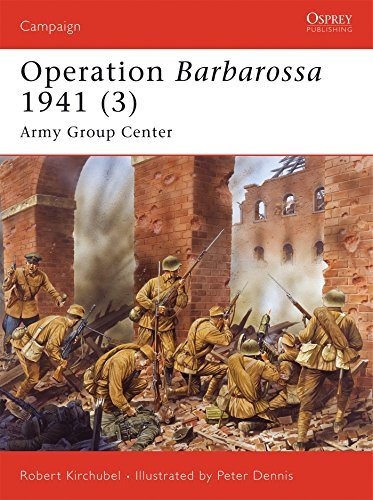 Operation Barbarossa 1941 (3): Army Group Center (Campaign) (v. 3)