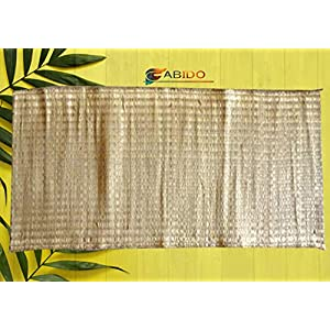 FABIDO® Very Big Natural Real Kusha Aasan Or Meditation Mat for Pooja Yoga Mat Eco Friendly No Other Grass Very Strong…