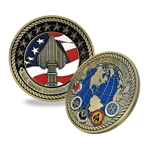 (US Air Force Special Operations Command Challenge Coin)