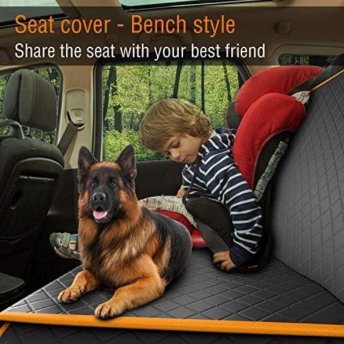 Cubierta protectora de asiento de coche contra mascotas 4