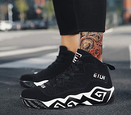 Uomo Pizzo Running Inverno Fitness E amp; Scarpe c Alto Sneakers Nuova A Sportive Cross Training 41 Accademia Autunno Yan EXCqY