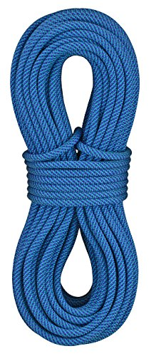 - STERLING Evolution Aero 9.2mm Dynamic Climbing Rope - Dry Treated Bicolor Blue 80m