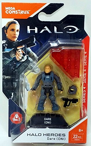 Mega Construx Halo Heros Legendary Spartans Veronica Dare Figure