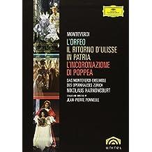 Monteverdi - L'Orfeo, L'Incoronazione di Poppea, Il Ritorno d'Ulisse in Patria