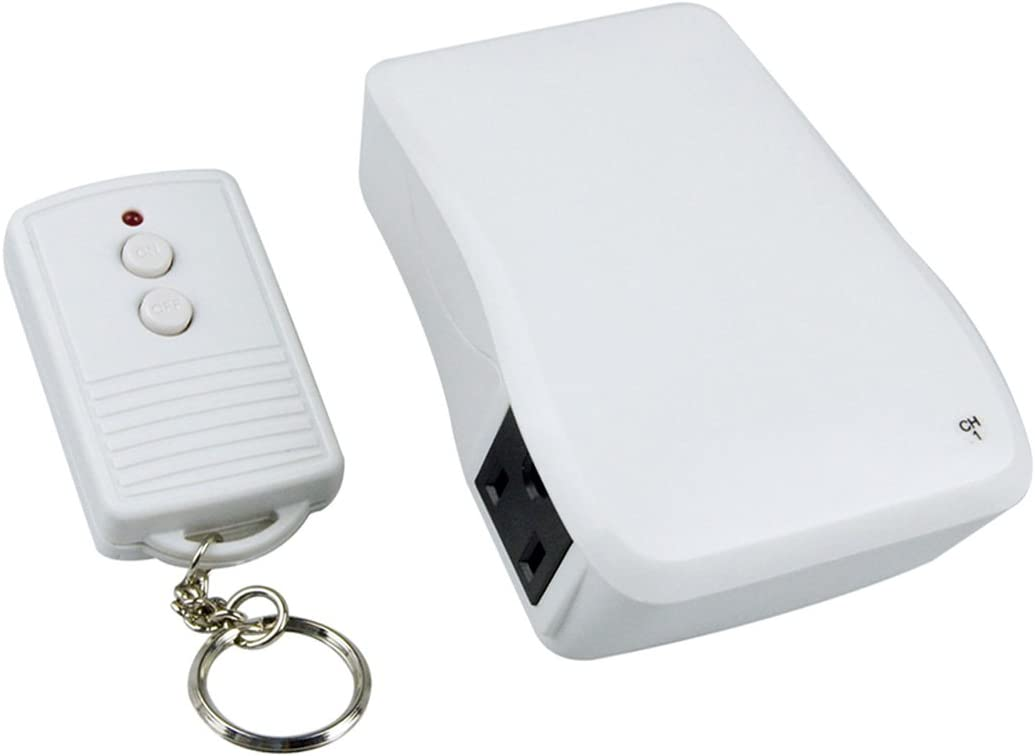 ECOPlugs Wireless Remote Control Outlet, Light Remote Control Wireless, Outlet Remote Control Indoor