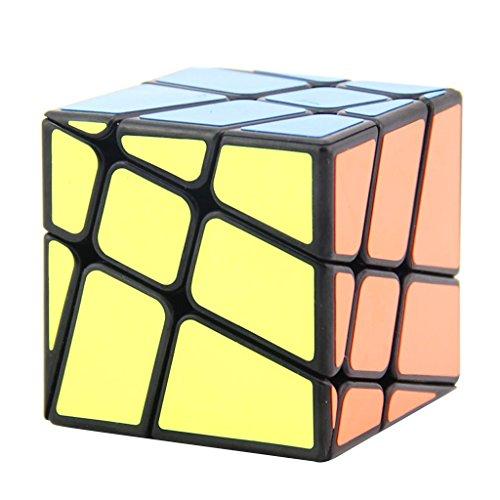 Jili Online 3x3x3 Black Magic Cube Speed Cube Kids Educational Toys Party Bag Fillers #B by Jili Online