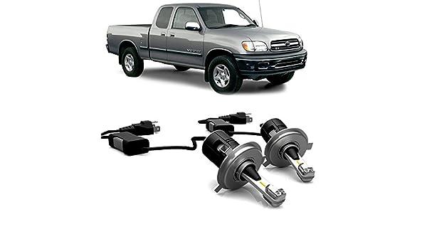 Amazon.com: 2PCS H4/9003 LED Headlight Kit Bulbs Low Beam lights For Toyota Tundra 2006 - 2000: Automotive