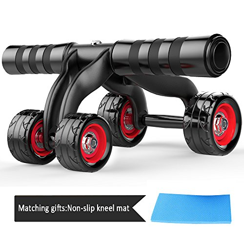 4-Wheels-Ab-RollerHerak-Abdominal-Muscle-AB-Fitness-Wheel-Core-Obliques-Training-Exercise-Trainer-Equipment-Support-800-Lbs