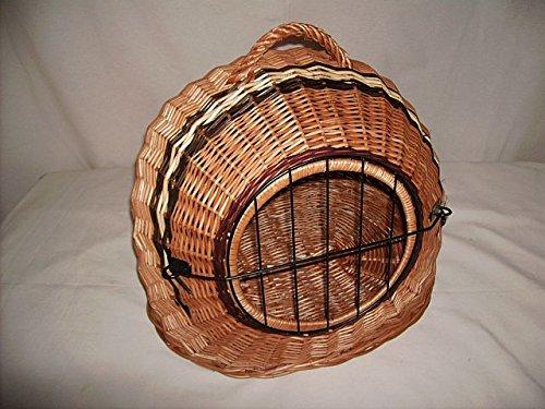 Diseño de gatos de cesta de cueva de mimbre con forro de ...