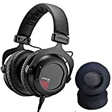 Beyerdynamic Custom One Pro Plus Headphones with Dekoni Audio Elite Velour Earpad set