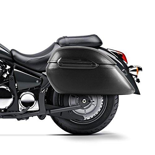 Alforjas rigidas 33l Craftride K3 Suzuki Intruder C 1500/ C 800/ C 1800 R/RT, Intruder M 1500/1600/1800 R/ 1800 R2/ 800, LS 650 Savage, Marauder VZ 800: ...