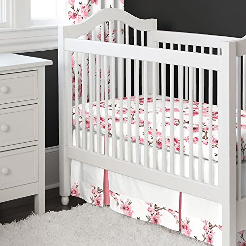 Blossom Bedding Set - Carousel Designs Cherry Blossom 2-Piece Crib Bedding Set