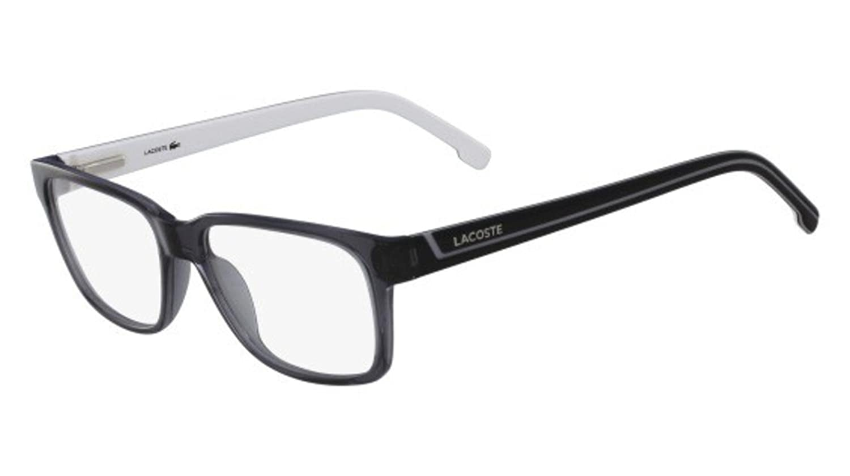 5dadf0d172d3 Eyeglasses LACOSTE L2692 035 TRANSPARENT GREY at Amazon Men s Clothing  store