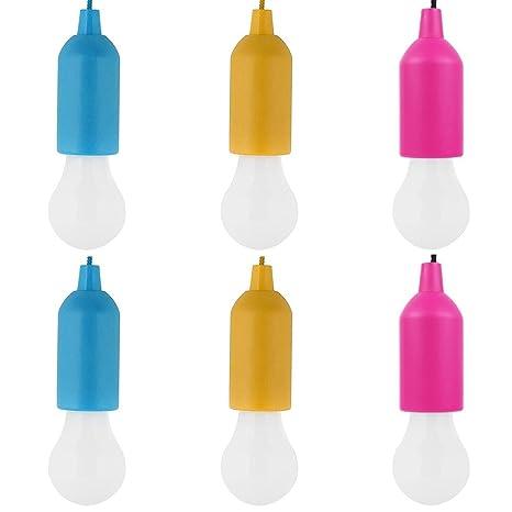 colgar cuerdafunciona pilas en LED con para 6 bombillas I6bYvfg7y