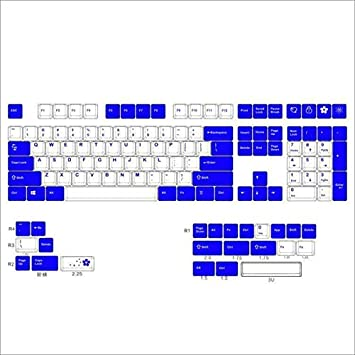 SSSLG PBT Keycaps, Altura de Cerezo, 132 Keycaps, Teclado ...