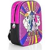 Kids Backpack Rucksack Cabin Bag for Children / Toddler - 3D Design Embossed EVA My Little Pony MLP Backpacks for School / Nursery / Travel