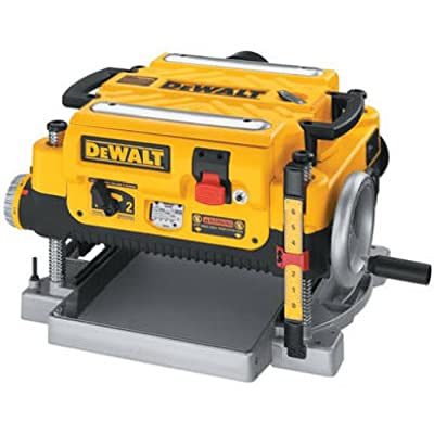 Image of DEWALT Thickness Planer, Two Speed, 13-Inch (DW735) Home Improvements