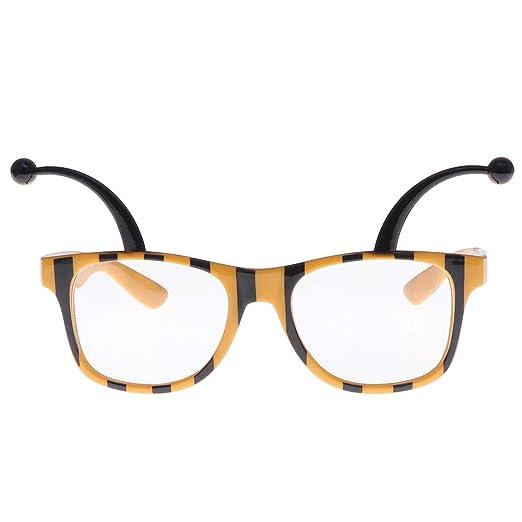 Amosfun Gafas de Sol en Forma de Abejas Disfraz de Fiesta ...