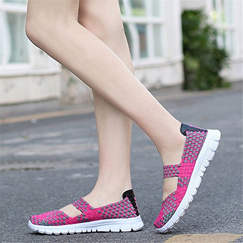 Mujer para Zapatillas AIRAVATA SH075 Rosa w4xCt6vq