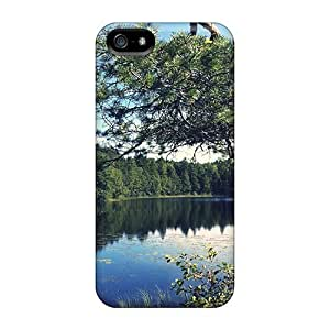For SamSung Galaxy S5 Mini Phone Case Cover - Slim Fit PC Protector Shock Absorbent Case (a Little Swedish Lake)