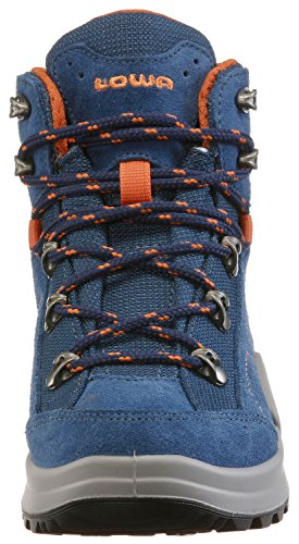 Mid Blue Lowa Orange III GTX Kids' Kody Unisex Hiking Junior Boots SR7RWz1