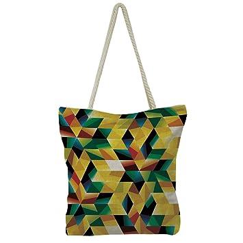 iPrint Handbag Cotton and Linen Shoulder Bag Small and Fresh Literature and  Art ad9737826f4f9
