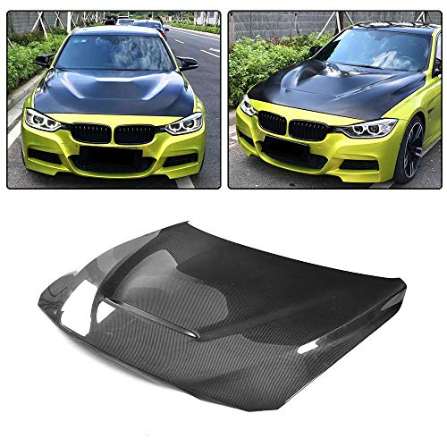 JC SPORTLINE fits BMW 3 Series F30 F31 F34 4 Series F32 F33 F36 2014-2018 Carbon Fiber Front Engine Bonnet Hood Cover Bodykit