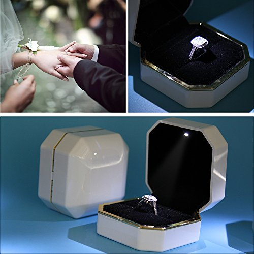 ring box with light - 3