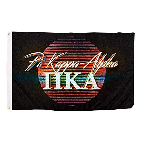 Phi Kappa Alpha - Pi Kappa Alpha 80's Letter Fraternity Flag Banner 3 x 5 Feet Sign Decor Pike
