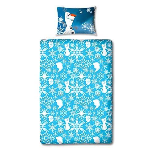 Parure De Lit Housse De Couette Disney Frozen Elsa 135x200 Cm