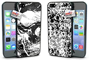 Skull and Camo Designer Cases TWO PACK for iPhone 5 or 5s