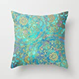 euro style cushion covers 20 x 20 inches / 50 by 50 cm for teens girls,chair,adults,sofa,divan,christmas with each side