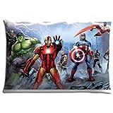 16x24 inch 40x60 cm Body pillow case Polyester Cotton Beautiful prints Marvel's Avengers Assemble