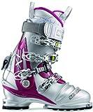 Scarpa Women's Terminator X Pro Ski Boots (Silver/Shark/Magenta, 25)