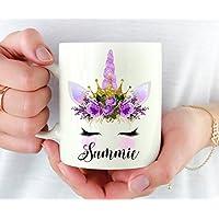 Personalized Unicorn Mug, Unicorn Lover Gift