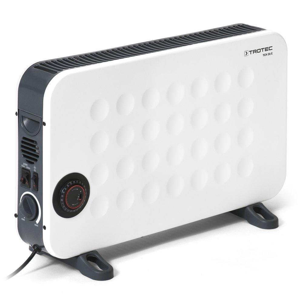TROTEC Convector de diseño TCH 26 E Convector Calefactor / Radiador eléctrico con control gradual por termostato, 3 niveles de calefacción: Amazon.es: ...