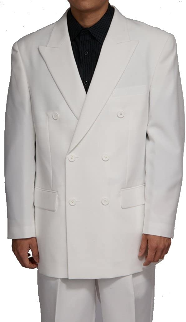 New Double Breasted (Db) Cream/Off White Men's Business Dress Suit
