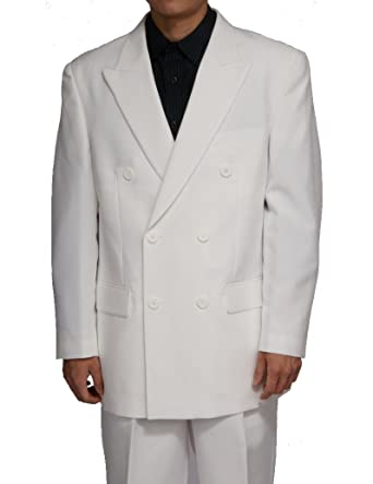 New Double Breasted (Db) Cream / Off White Men's Business Dress ...