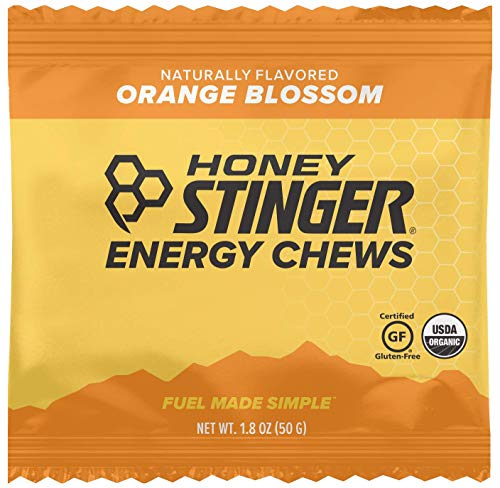 Honey Stinger Organic Energy Chews, Orange Blossom, Sports Nutrition, 1.8 Ounce (Pack of -