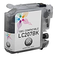 SaveOnMany ® 4 Pack LC-207xxl LC-205xxl BK/C/M/Y High Yield (LC-207XXLBK+ LC-205XXLCMY, Black, Cyan, Mangenta, Yellow) New Compatible Ink Cartridge for Brother MFC-J4320DW MFC-J4420DW MFC-J4620DW MFC-J5520DW MFC-J5620DW MFC-J5720DW (LC207-BK)