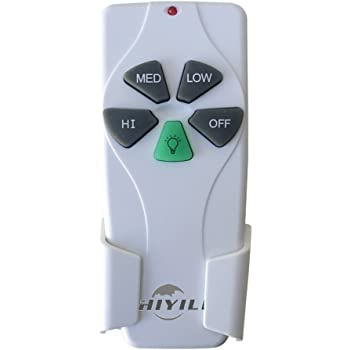 Hiyill 53t Ceiling Fan Remote Control Replacement For