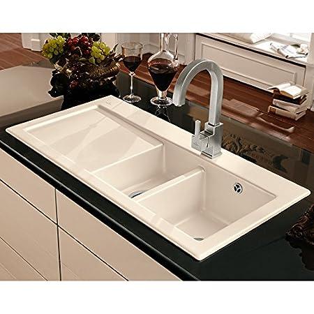 Villeroy Boch Subway 60 &Sink XR Alpine White Ceramic Sink 1000 x ...