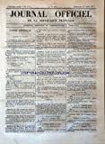 JOURNAL OFFICIEL DE LA REPUBLIQUE FRANCAISE [No 113] du 23/04/1871 - VERSAILLES / LES ARTICLES 2 A 43 DU CODE DE JUSTICE MILITAIRE / A. THIERS - LE GENERAL LE FLO -LES ARRETES - LES PROMOTIONS