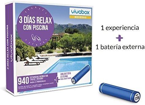 vivabox 3 dias relax con piscina
