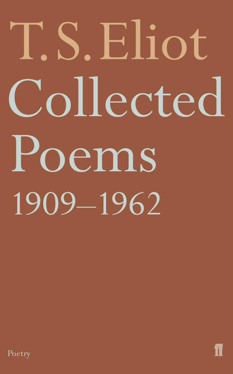 Collected Poems 1909 62 Faber Paper Covered Editions