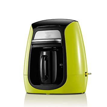 Oficina automática casera de la máquina del café del goteo, verde: Amazon.es: Hogar